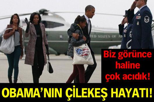 Obama'nın çilekeş hayatı !