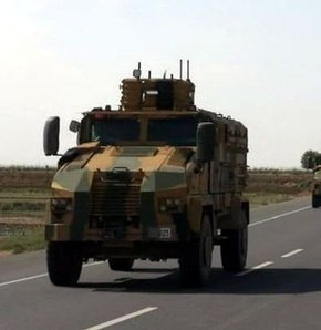 Cizre'ye askeri sevkiyat
