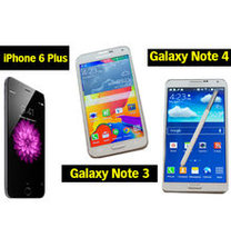 Hangisi en iyi? iPhone 6 Plus mı? Yoksa Galaxy'nin Note canavarları mı?