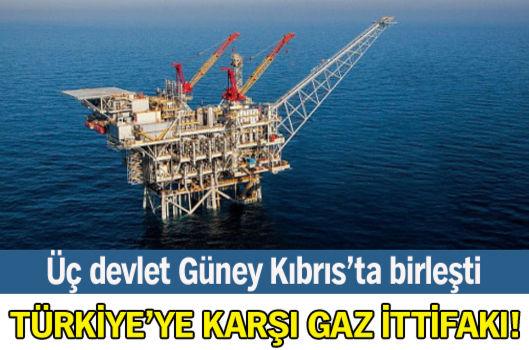 Türkiye'ye karşı gaz ittifakı!