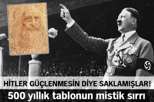 Hitler güçlenmesin diye saklamışlar!