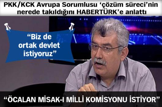 """""""Öcalan Misak-ı Milli Komisyonu istiyor"""""""