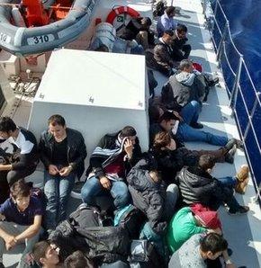 Ege Denizi'nde 3 günde 292 kaçak kurtarıldı