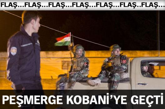 Peşmerge Kobani'ye geçti