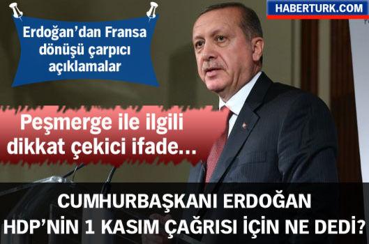 Cumhurbaşkanı Erdoğan: Bunlarda iyi niyet yok