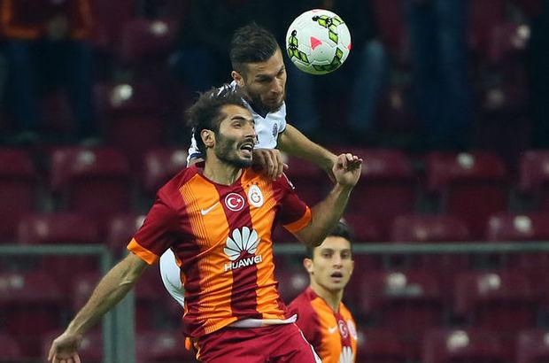 Hamit Altıntop, Kasımpaşa maçında sahaya ilk 11'de çıktı.