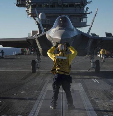 F-35'in test görüntüleri yayınlandı
