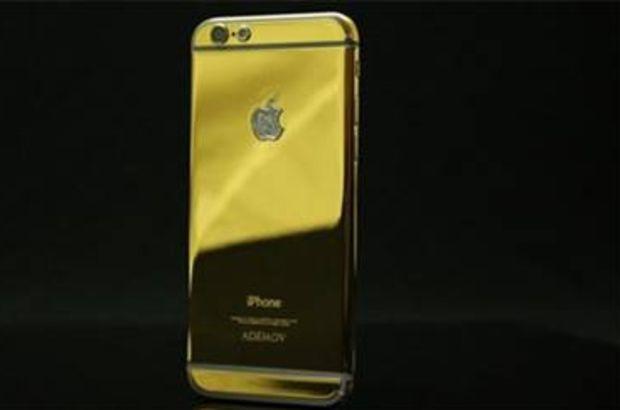 altın kaplama apple