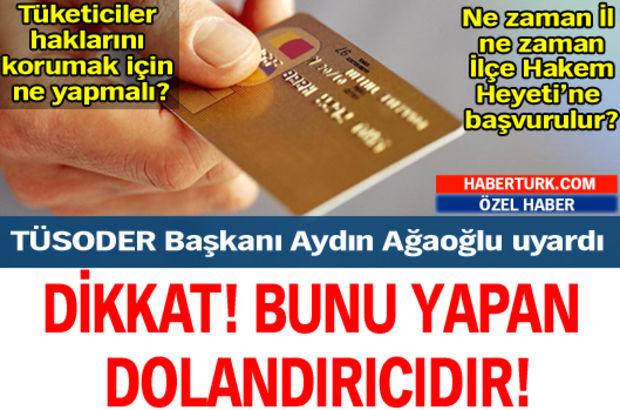 TÜSODER Başkanı Aydın Ağaoğlu uyard