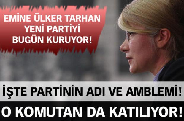 Emine Ülker Tarhan Anadolu Partisi yeni parti
