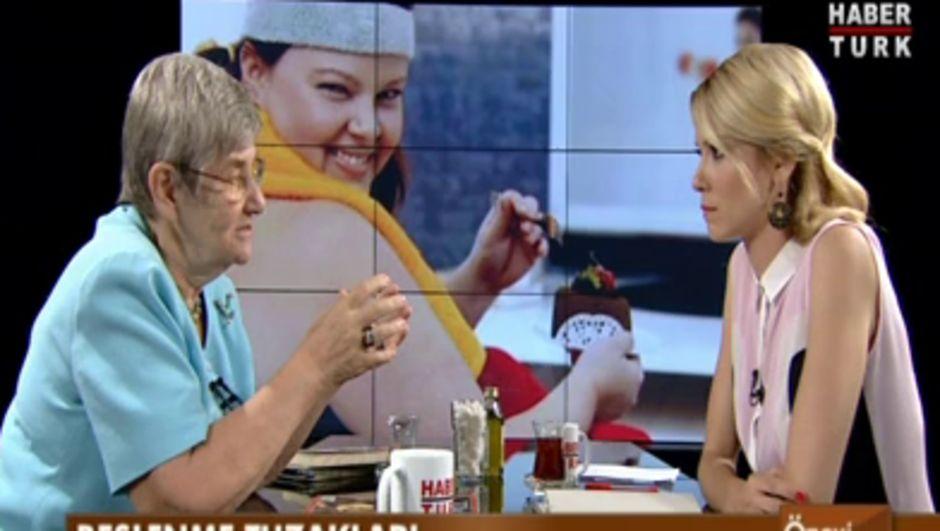 Canan Karatay: şeker yüklemesi ile anne karnındaki bebeği zehirliyorsunuz (Ötek Gündem Habertürk TV)