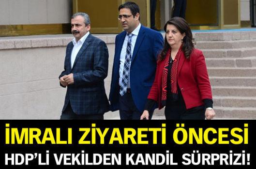 İmralı ziyareti öncesi HDP'li Baluken'den Kandil sürprizi