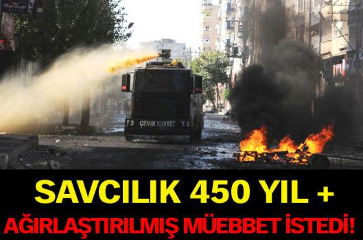 İki Kobani eylemcisine 450 yıl + ağırlaştırılmış müebbet
