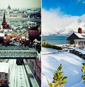 Slovenya dan macaristan a kış tatili için tercih