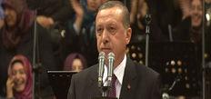Erdoğan Şeb-i Arus'ta konuştu