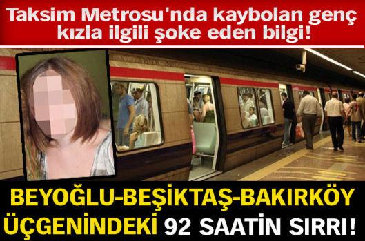 Beyoğlu-Beşiktaş-Bakırköy üçgenindeki 92 saatin sırrı!