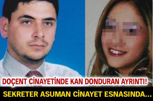 Doçent cinayetinde iddianame kabul edildi