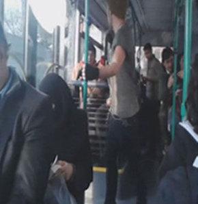 İstanbul'da otobüste şaşırtan olay!