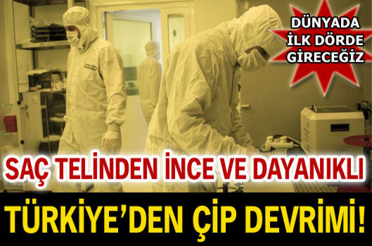 Türkiye'nin ilk çip fabrikası açılıyor
