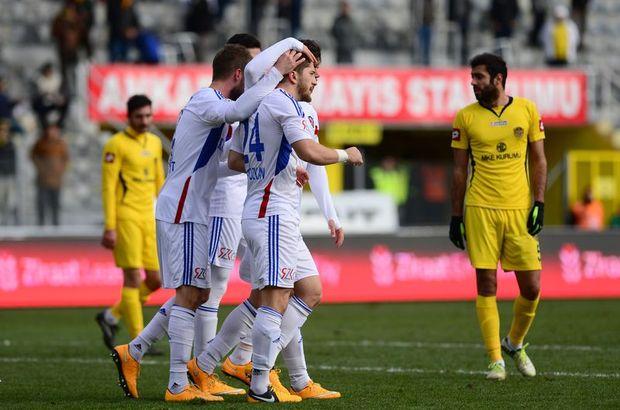 Bu sonucun ardından Karabükspor puanını 4'e yükseltirken, Ankaragücü ise 1 puanla son sırada kaldı.