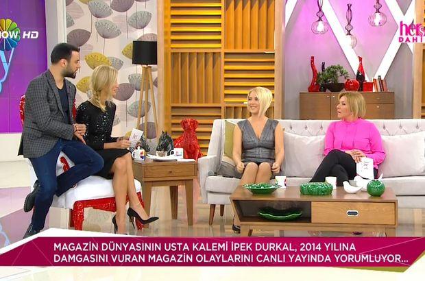 Gazeteci İpek Durkal, yılın magazin olaylarını yorumladı!