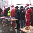 Taksim'de asayişi 'Noel baba' sağlayacak
