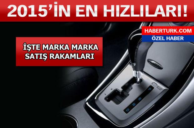 Türkiye'nin en çok satan otomobilleri