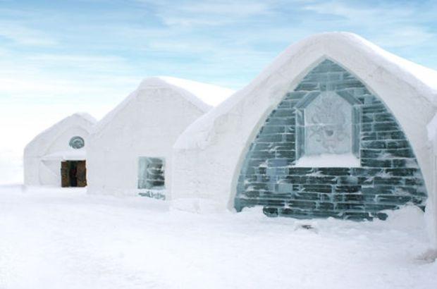 Dünyanın en güzel buz otelleri