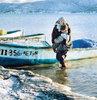 'Göl buz tutmasın diye Allah'a yalvardım'