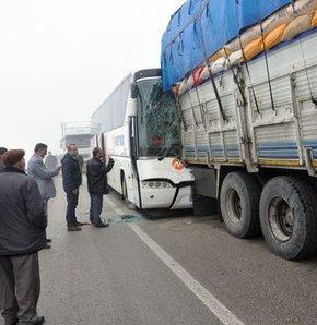 'Görünmez' kaza: 3 yaralı