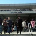 Marmaray'da bomba alarmı
