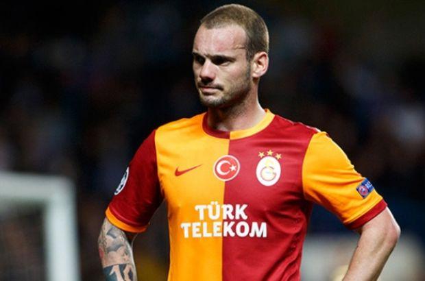 Weslew Sneijder'den Hamzaoğlu'na tepki, Sneijder oyundan çıkınca sinirlendi, Sneijder'den inanılmaz tepki