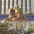 Havuzda böyle yakalandı!