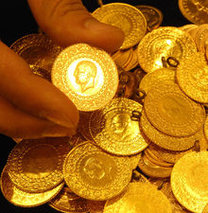 Altın haftalık kazancını azalttı