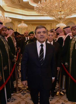 Abdullah Gül Riyad'ta