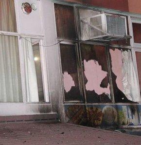 Tunceli'de molotoflu saldırı