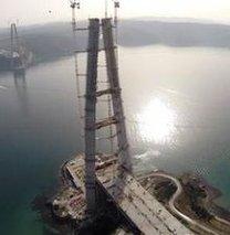 Üçüncü boğaz köprüsünün son hali