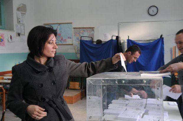 Yunanistan'da beklenen seçimin sonuçları açıklanmaya başlandı