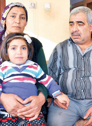 MPS hastası minik Döne'nin yaşamı, alamadığı ilaca bağlı