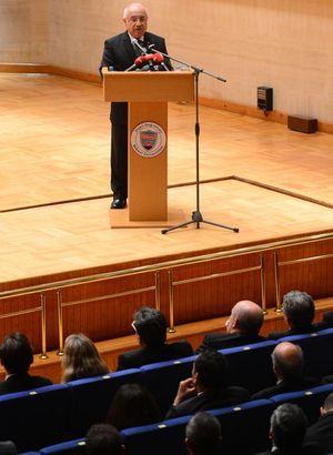 TBMM Başkanı Çiçek Holokost kurbanlarını anma töreninde konuştu