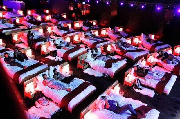 Sinema salonunun böylesi