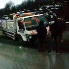 Düzce'de zincirleme kaza, 1'i polis 7 yaralı!