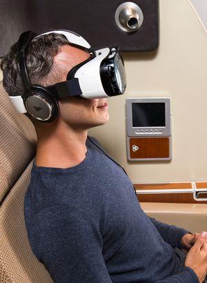 Uçuşlarda sanal gerçeklik dönemi!