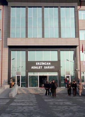 """Erzincan'da """"Ergenekon"""" davası görüldü"""