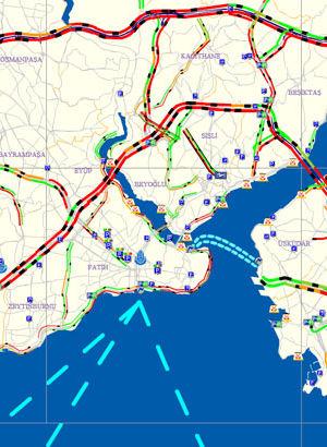 İstanbul'da trafik kilit!