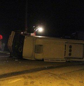 Afyonkarahisar'da trafik kazası: 8 yaralı