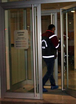 İzmir'de banka soygunu girişimi
