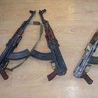 Van'da toprağa gömülü uzun namlulu silah bulundu