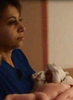 Doğurduğu bebeği hastaneden çıkar çıkmaz...