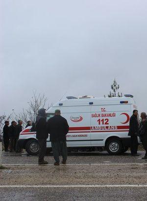 Gaziantep'te yolcu minibüsü devrildi